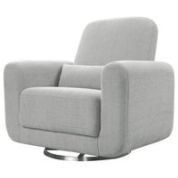 Tuba Glider Chair,, Winter Grey Weave, Large