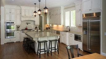 Distressed White Kitchen