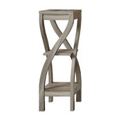 """Accent Table, 32""""H, Dark Taupe"""