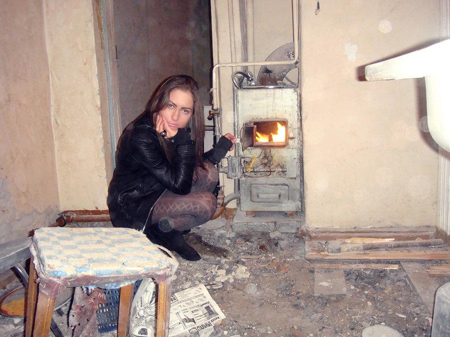 Скандинавский интерьер в немецком доме в российском городе.
