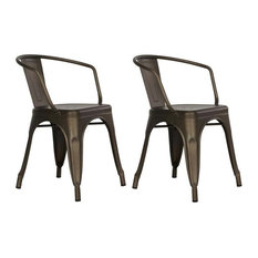Industrial Dining Room Chairs | Houzz