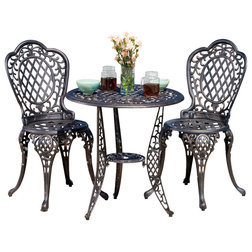 Victorian Outdoor Pub And Bistro Sets by GDFStudio