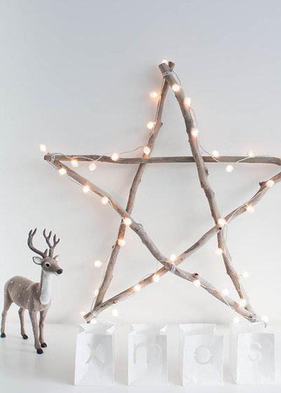 weihnachtsdeko aus holz: 11 tolle ideen - Weihnachtsdeko Ideen Holz