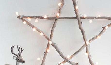 Rami di Legno, 11 Idee Fai da Te per il Natale