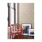 Ge3661 Irongate Trellis Oriental Faux Grasscloth Geometric Trellis Wallpaper
