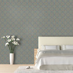 """Tiles Wallpaper, Camel Back, 25"""" X 8.5' - """"Swag Paper - Empowering the Do-It-Yourselfer:"""