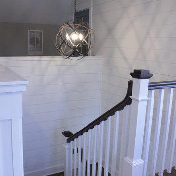 Staircase of Modern Farmhouse
