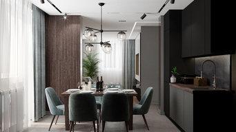 Реализация 2019: 2-комнатная квартира в 56 м², Ростов-на-Дону