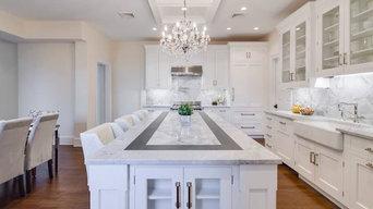 3cm Super White Quartzite Kitchen