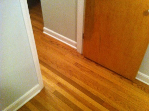 Wood Door Color Match Trim Or Floor Or
