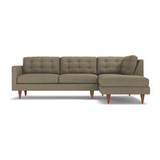 Logan 2-Piece Sectional Sofa, Taupe, Chaise on Right