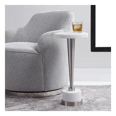 Uttermost Masika White Drink Table