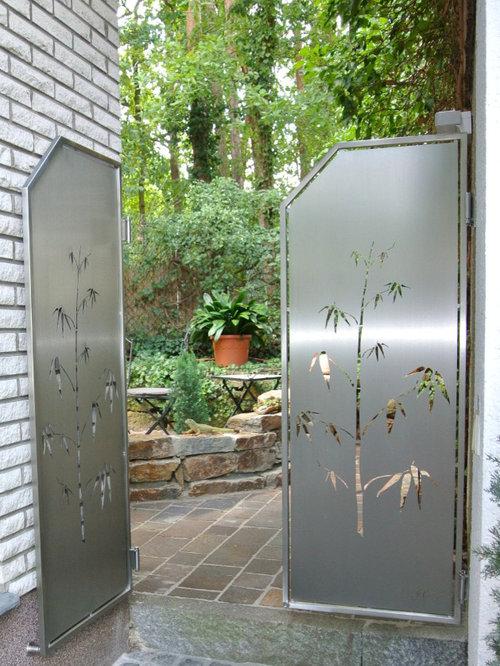 stainless steel privacy screens, edelstahl sichtschutz, Wohnideen design