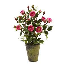 Artificial French Rose Garden