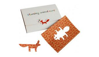 Standing Animal Card
