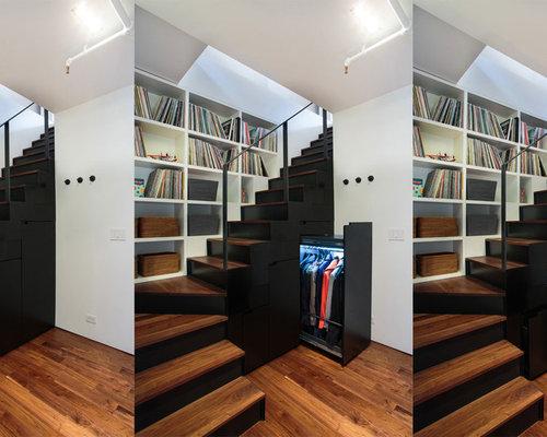 Under Stairs Coat Closet