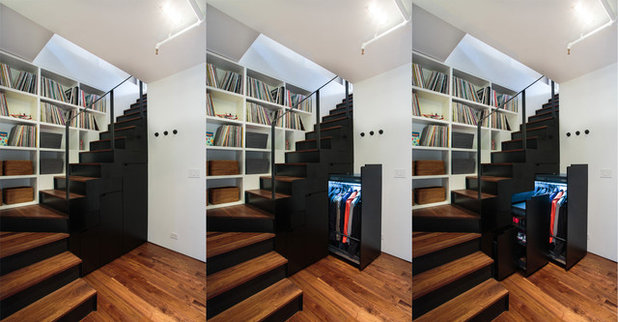 7 l sungen f r eine garderobe unter der treppe. Black Bedroom Furniture Sets. Home Design Ideas