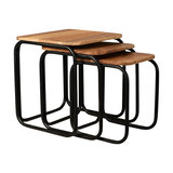 DJ Ford Retro Nesting Tables, Set of 3