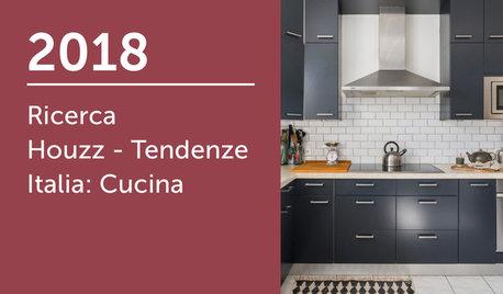 Ricerca Houzz - Tendenze Italia 2018: Cucina