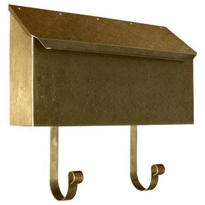 Contemporary Horizontal Mailbox Traditional Mailboxes