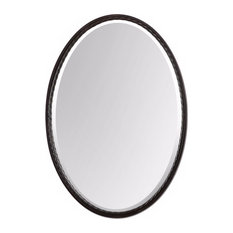 Charming Uttermost   Uttermost Casalina Oil Rubbed Bronze Oval Mirror   Bathroom  Mirrors