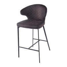 Bradley Counter Stool Moonstone Black