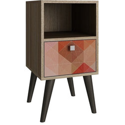 Midcentury Side Tables And End Tables by Manhattan Comfort