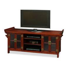 China Furniture and Arts - Elmwood Altar Style Media Cabinet - Media ...