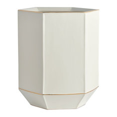 St. Honore Porcelain Waste Basket