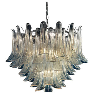 Mildred Murano Glass Chandelier