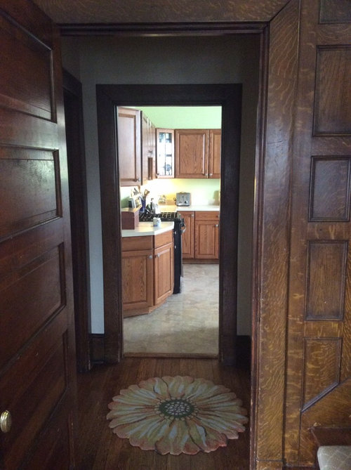 American Foursquare Kitchen Renovation