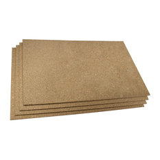 """Cork Insulating Underlayment, 24""""x36""""x6Mm Pack of 4 Sheets"""
