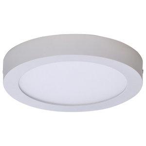Sky Spot Ceiling Lamp, 4200K LED, White, Medium