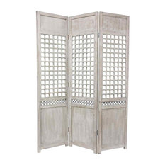 Oriental Furniture Open Lattice Room Divider Screens And Room Dividers