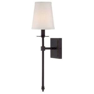 1-Light Sconce, Classic Bronze