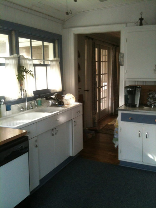 How To Incorporate My Old Youngstown Sink Cabinet Into My Kitchen Renovation