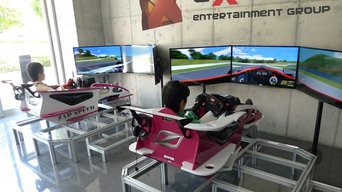 Racing simulator training center