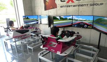 Racing simulator training center