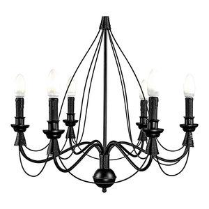 Hungary Black Metal Pendant Lamp