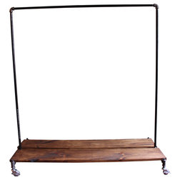 Industrial Clothes Racks by Monroe Trades