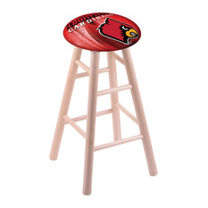Maple Bar Stool Natural Finish With Louisville Seat 30-inch