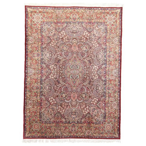 Kerman Antique Oriental Rug, Hand-Knotted, 414x305 cm