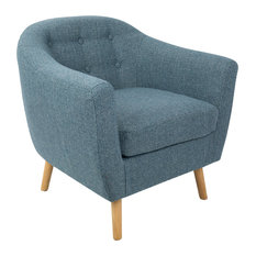 LumiSource Rockwell Chair With Noise, Blue