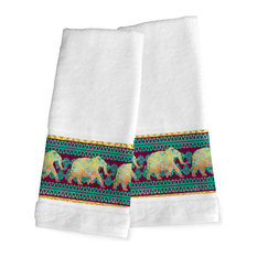 Laural Home Marrakesh Hand Towels, Set of 2