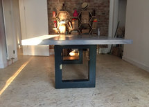 can this table be used in the garden? What will it be with hot product
