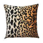 Leopard Velvet Decorative Pillow Cover
