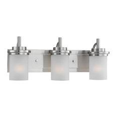 Sea Gull Lighting 44662 Winnetka 3 Light Bathroom Vanity Light - Nickel