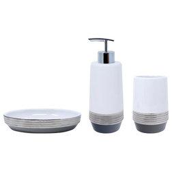 Contemporary Bathroom Accessory Sets by Croscill