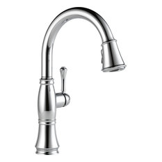 Delta Cassidy Pull-Down Kitchen Faucet with ShieldSpray Technology, Chrome