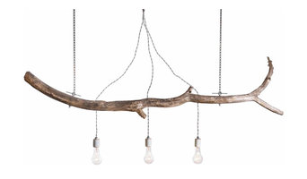"""branch"" custom chandelier"